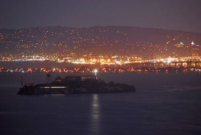 Alcatraz at Night  © 2007 Brian Neal