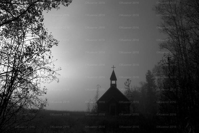 Shadows Gather Around The Cross..