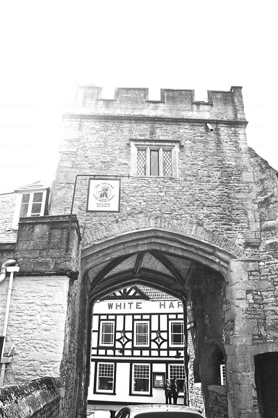 Grey Heart<br /> The Gatehouse Hotel and Rugantino Restaurant in Wells, Somerset, England