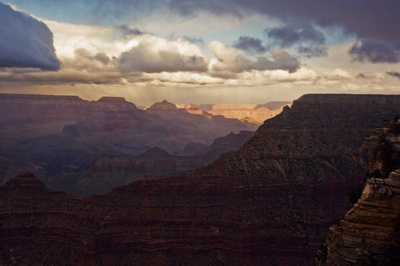 Mather Point Sunset