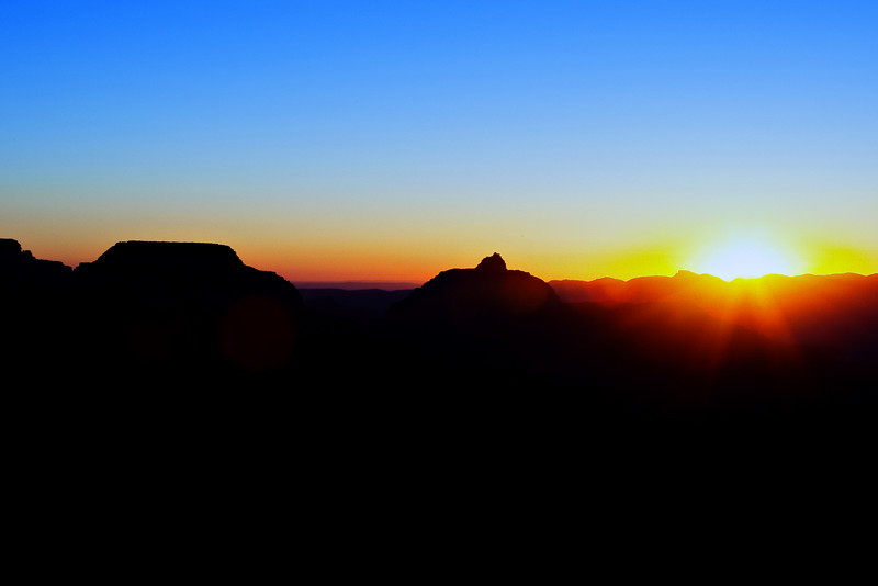 Sunrise at Yaki Point