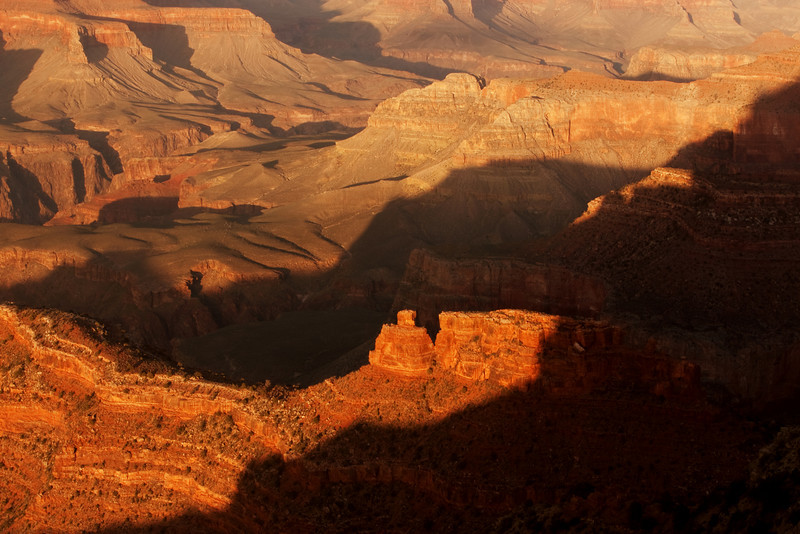 Grand Canyon Light and Shadow