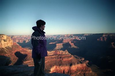 Sunrise at Yavapai Point, Grand Canyon National Park