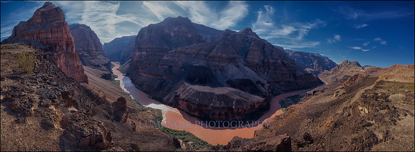 180º View of Colorado River in Whitmore.