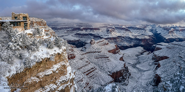Lookout Studio In Snow