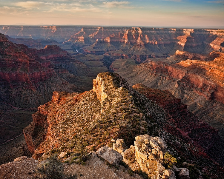 Sublime Sunrise<br /> Sunrise from Point Sublime on the North Rim of the Grand Canyon.<br /> Grand Canyon National Park, Arizona, USA