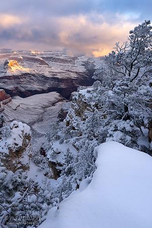 White Blanket Grand Canyon