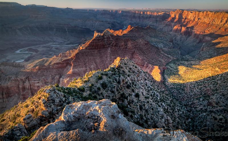 Lipan Sunset<br /> <br /> Sun sets over the canyon<br /> Lipan Point, Grand Canyon National Park, Arizona, USA
