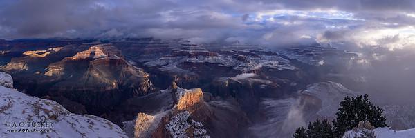 Winter Canyon Vista