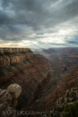 Light Falling On The Canyon
