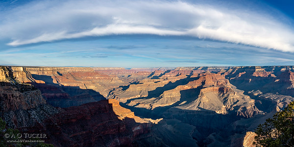 Curvature Of Clouds Over The Canyon II
