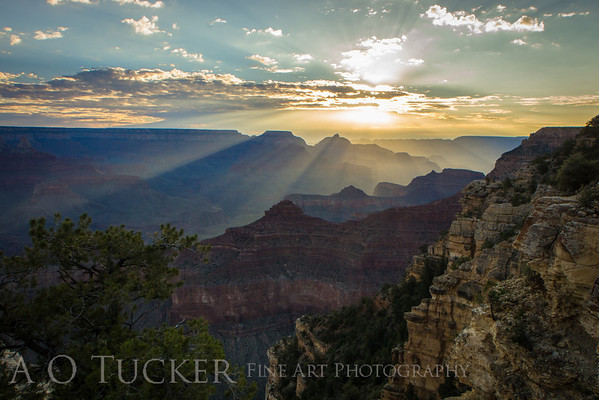 Sunrise From Yavapai Point