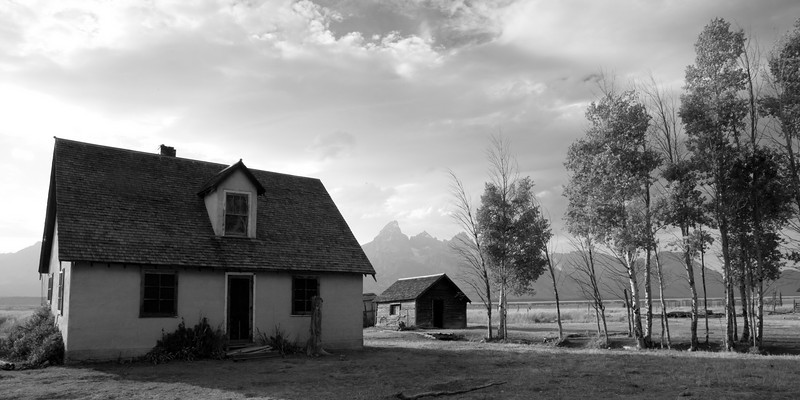 John & Bartha Moulton Homestead, Mormon Row