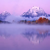 Alpenglow over the Tetons