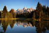 Early Morning at Schwabacher Landing