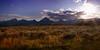 Grand Teton Sunset from Jackson Lake Lodge