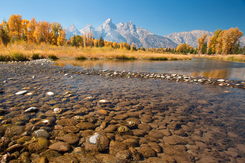 River in Grand Teton National Park