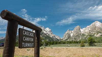 Cascade Canyon Turnout