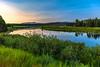 41,  An Oxbow Bend Sunrise Downriver