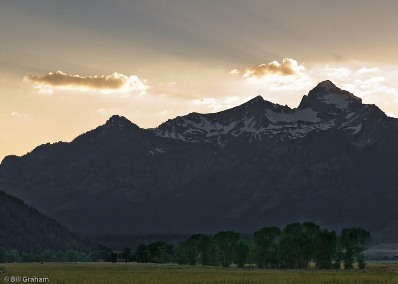 Sunset at Antelope Flats