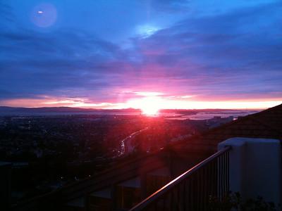 Sunset Dec 28, 2009