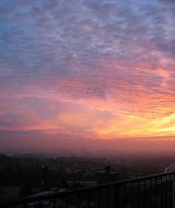 sunset 01-15-05