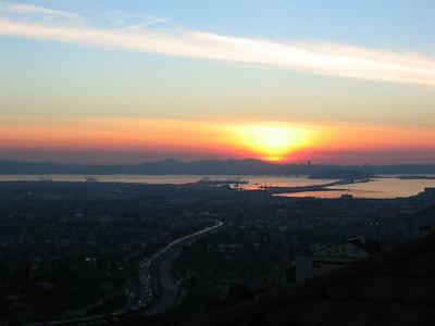 Sunset 01-13-05