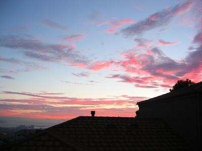 Sunset 17 July 2004
