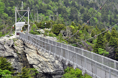 Swinging Bridge- Grandfather Mountain NC
