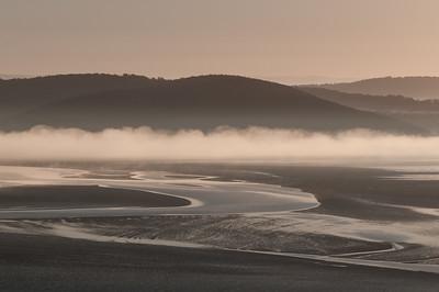 Mist below Arnside Knott