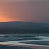 Just before sunrise, Morecambe Bay