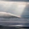 Mist rising on Arnside Knot, Morecambe Bay