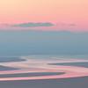 Pastel sunrise, Morecambe Bay