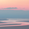 Pastel sunrise, Morecambe Bay