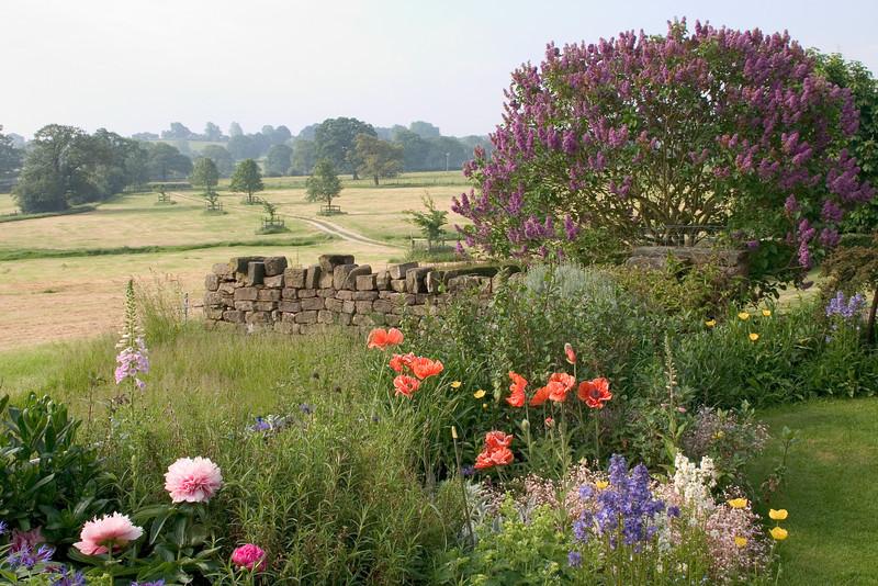 English Country Garden, Yorkshire, England