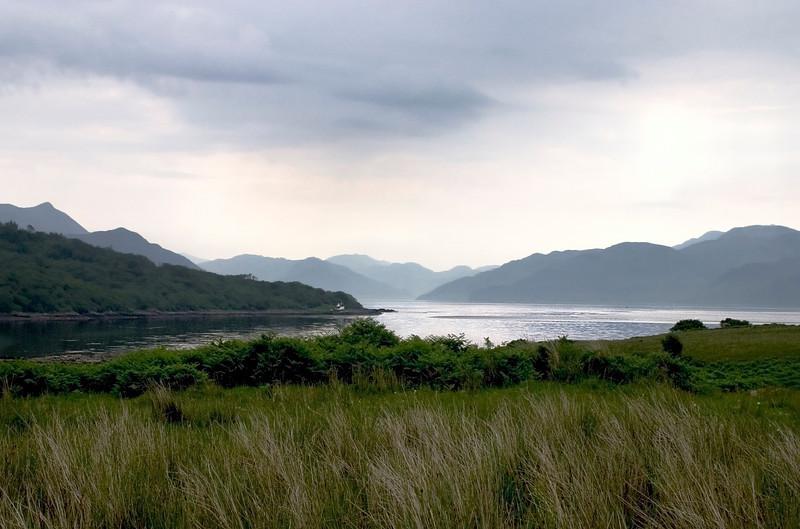 Misty Scottish Loch