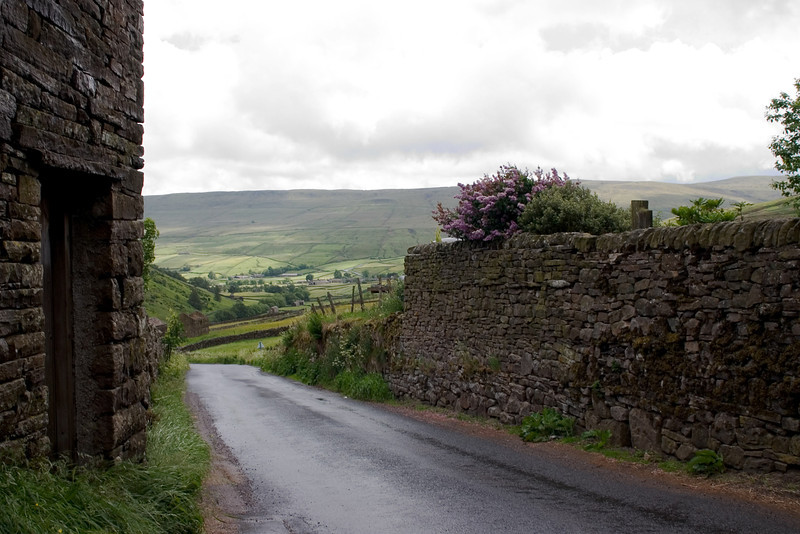 Stone wall in the Yorkshire Dales