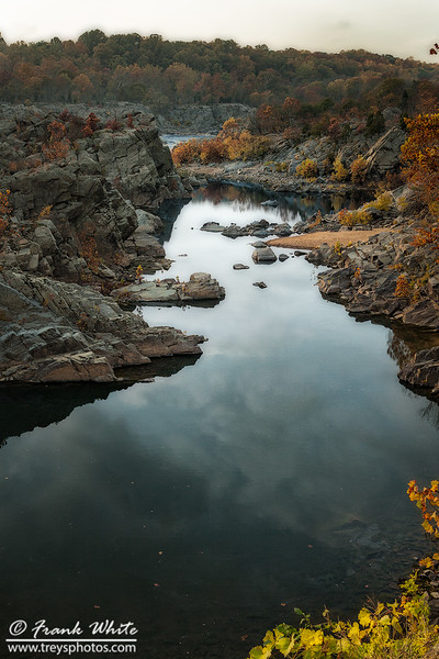 Fall colors at Great Falls #3