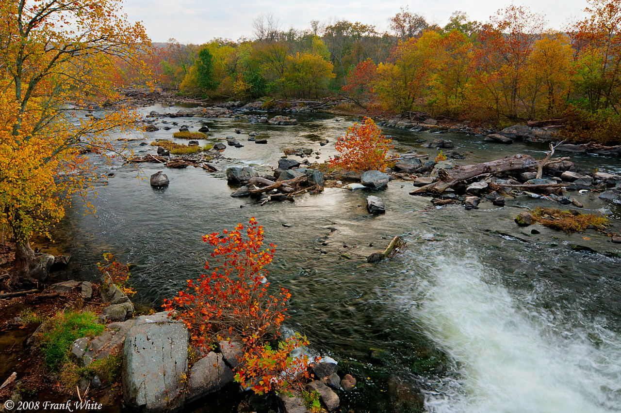 Fall colors at Great Falls #5