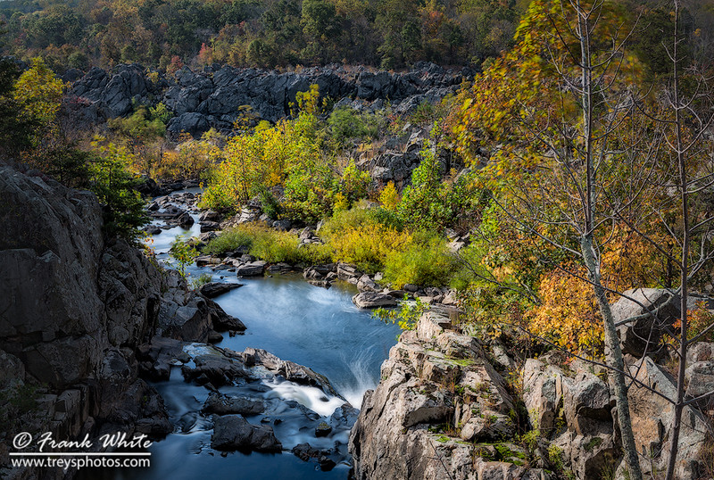 Fall colors at Great Falls #1