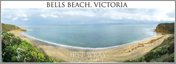 Bells Beach Panorama Title web