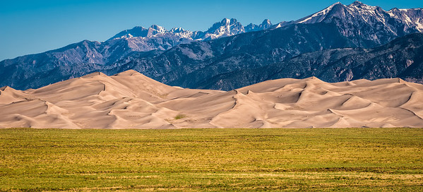 Great Sand Dunes Great Contrast