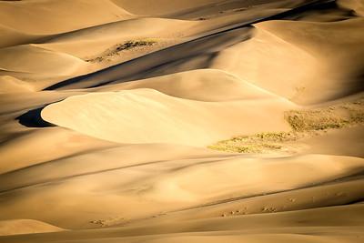 Mesmerizing everchanging sand dunes