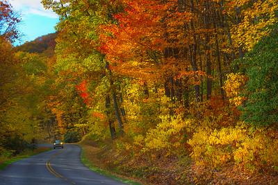 On the Blue Ridge Parkway_ North Carolina