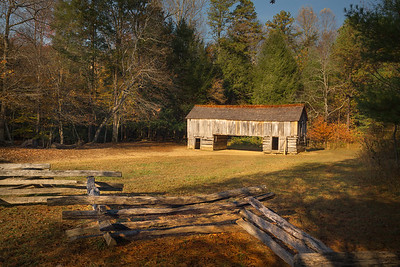 Two Pan Barn at Cable Mills_ Cades Cove