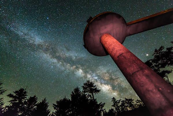 Milky Way at Clingmans Dome I