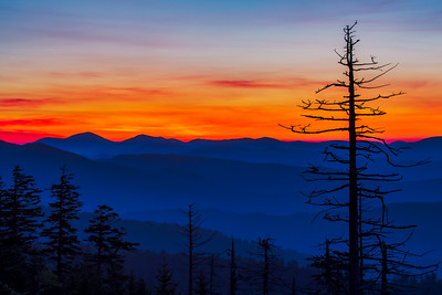 Skyfire from Clingmans