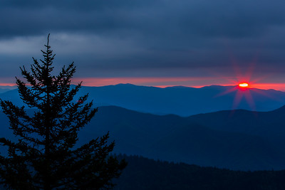 Smoky Mountain Glow I