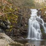 Spruce Flats Falls in February