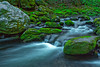 Tennessee, Great Smoky Mountains, Roaring Fork, Stream, Rocks, Landscape, 美国 大烟雾山国家公园,田纳西, 风景